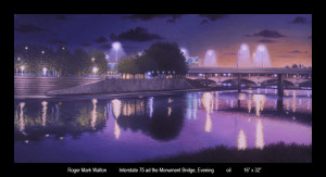 I 75 and Monument Bridge Eve 16x32